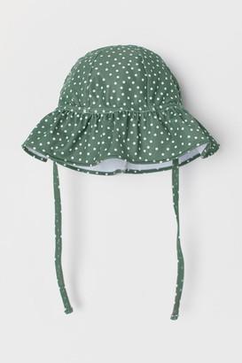 H&M Sun Hat UPF 50 - Green