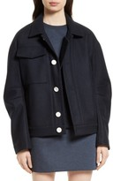 Tibi Women's Leigh Bomber Jacket