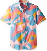 Lrg Men's Spectra Short Sleeve Woven Shirt