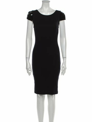 Alice + Olivia Wool Knee-Length Dress w/ Tags Wool