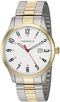 Bulova Caravelle Men's Quartz Stainless Steel Dress Watch