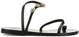 Ancient Greek Sandals Alpi Eleftheria shell sandals