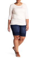 One 5 One Released Hem Short (Plus Size)