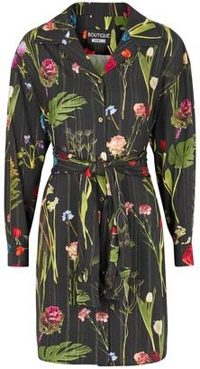 Boutique Moschino Floral-print shirt dress