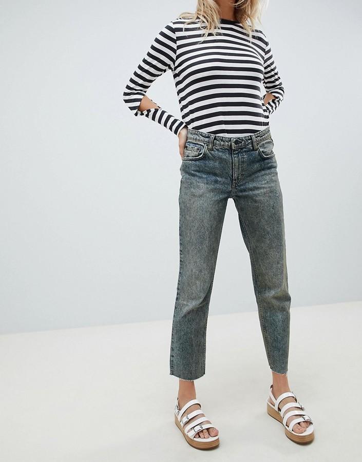 Cheap Monday Revive Cropped Straight Leg Jean