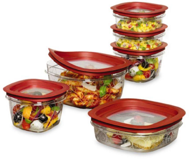 Rubbermaid Premier 12-Piece Food Container Set