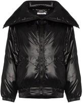 Givenchy logo varnished bomber jacket