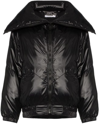 Givenchy Logo Varnished Bomber Jacket