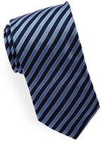 HUGO Textured Striped Silk Tie