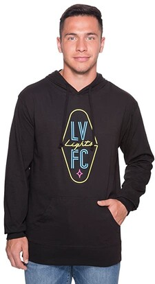 Las Vegas Lights F.C. Las Vegas Lights F.C. Logo Hoodie (Black) Sweatshirt