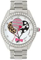 Betsey Johnson Balloon Analog Bracelet Watch