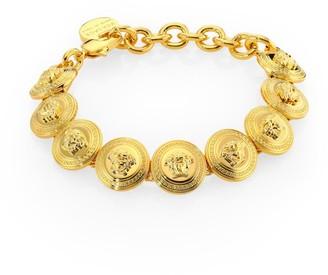 Versace Medusa Link Chain Bracelet