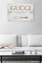 """Oliver Gal Gallery Italian Luxe Road Sign Canvas Art - 20""""x30"""""""