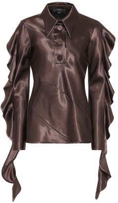 Ellery Obsessed satin top
