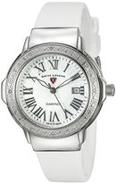 Swiss Legend Women's 20032DSM-02-WHT South Beach Analog Display Swiss Quartz White Watch