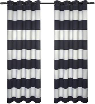 Home Outfitters Set of 2 Kids Rugby Curtain Panels