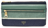 Fossil Preston Color Block Flap Wallet