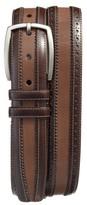 Mezlan Men's Diver Leather Belt