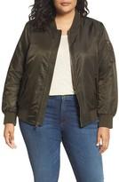 Levi's Plus Size Women's Ma-1 Bomber Jacket