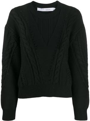 IRO Nabai sheer-insert jumper