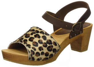 Sanita Women's Camilla Square Flex Sandale Ankle Strap
