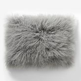 "west elm Mongolian Lamb Pillow Cover - Platinum (12""x16"")"