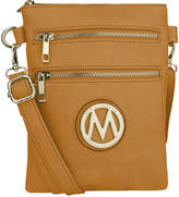 Mkf Collection By Mia K. MKF Collection by Mia K. Women's Handbags Mustard - Mustard Medina Double Zip Crossbody Bag