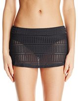 Anne Cole Women's Lace Crochet Skirt Bikini Bottom