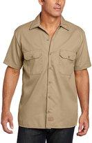 Dickies Men's Short Sleeve Work Shirt (XXL-Tall, )