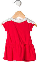 Chloé Infant Girls' Short Sleeve Peplum Top