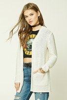 Forever 21 FOREVER 21+ Purl-Knit Sweater Cardigan
