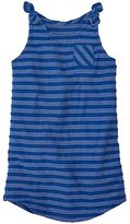 Girls Soft Stripes Cover-Up In French Terry