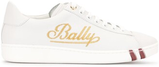 Bally Embroidered Logo Sneakers