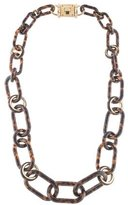 Michael Kors Tortoise Shell Link Necklace