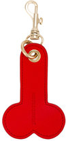 J.W.Anderson Red phallic keyring - men - Leather/metal - One Size