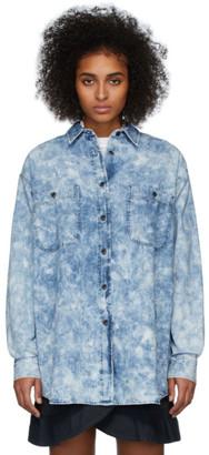 Etoile Isabel Marant Blue Denim Lynton Shirt