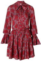 Alexis Elizavetta Dress Red Floral