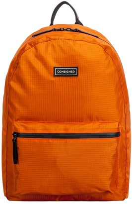 Consigned Finlay Rip-Stop Backpack Orange