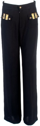 Relax Baby Be Cool Wool Trousers With Front Pockets Black