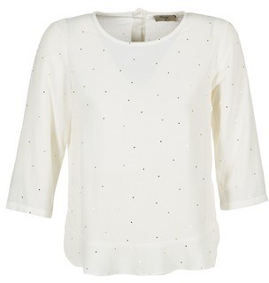 Betty London GOCCINELLE women's Blouse in White