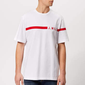 Jack Wills Men's Budden Stripe Logo T-Shirt