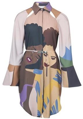 Thebe Magugu Girl Seeks Girl shirt dress