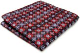 Shlax & Wing Shlax&Wing Floral Red -color Pocket Square Mens Hankies Hanky