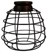 Litex Antique Bronze Bell Lantern Mini Pendant Shade
