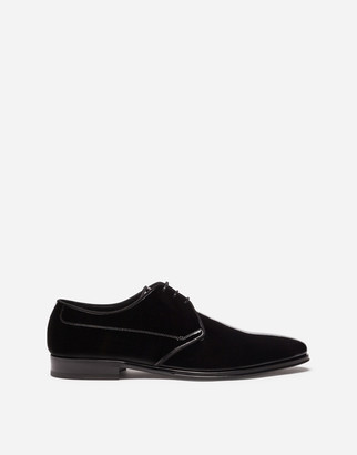 Dolce & Gabbana Patent Leather Derby Shoes