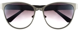 Vince Camuto Brushed Metal Cat-Eye Sunglasses