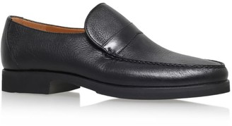 Stemar Leather Wide Fit Loafers