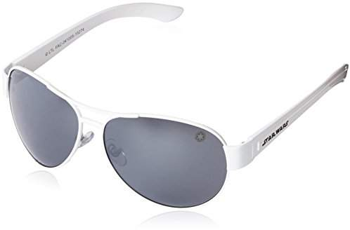 Foster Grant Star Wars Adult Storm Trooper 2 Aviator Sunglasses