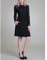 Vivienne Tam Lace Applique Dress.