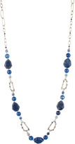 Alexis Bittar Chain Link Encrusted Spike Station Necklace